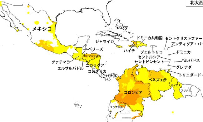 海外の危険な国レベル3