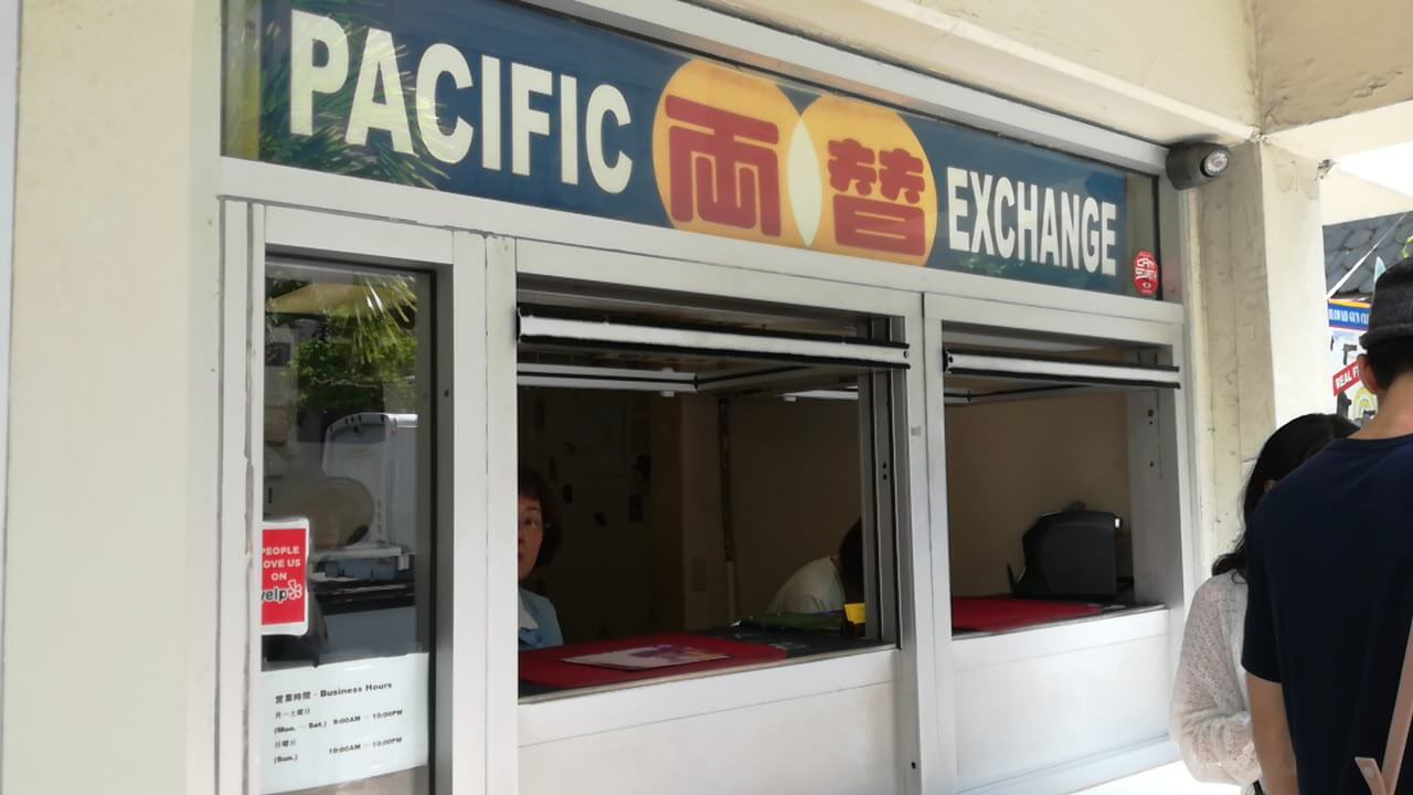PACIFIC MONEY EXCHANGE(両替)